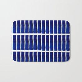 Shibori Stripes Bath Mat