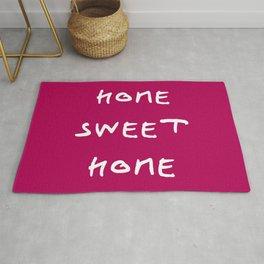 Home sweet home 2 purple Rug