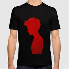 Girl with the Dragon Tattoo MEDIUM Black Mens Fitted Tee