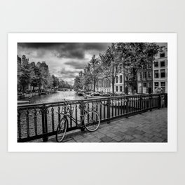 AMSTERDAM Emperors canal Art Print