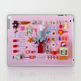 Miniature Collage: Cooking Laptop & iPad Skin
