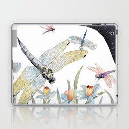 Good Night Surreal Dragonfly Artwork Laptop & iPad Skin