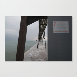 Canal Station Canvas Print