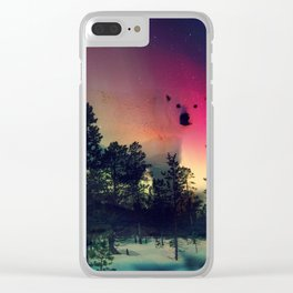 Polar Bar Nebula Clear iPhone Case