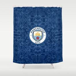 Manchester City  Sport Football Shower Curtain