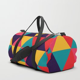 Colorful Triangles (Bright Colors) Duffle Bag