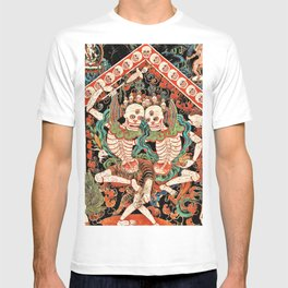 Citipati Tibetan Cemetery Guardians T-shirt