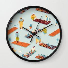 Garden of dreamers Wall Clock
