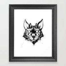 hellcat Framed Art Print