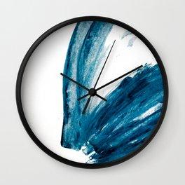 Bunny Blue Wall Clock