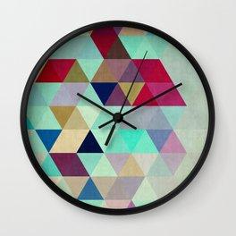 Geometric cosmos III Wall Clock