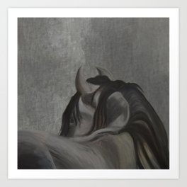 Cavallo Rustico Art Print