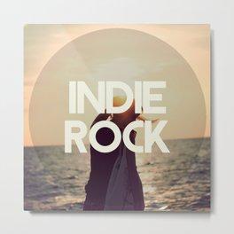 Indie Rock Metal Print