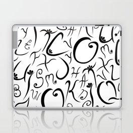 Elvish-Inspired Type Design Laptop & iPad Skin