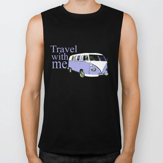 travel with me!!! Biker Tank