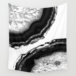 Agate Glitter Glam #5 #gem #decor #art #society6 Wall Tapestry