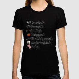 Labyrinth Names T-shirt
