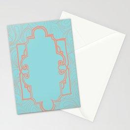 Art Deco Bohemian Pattern Stationery Cards