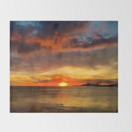 Hawaii Sunset Throw Blanket