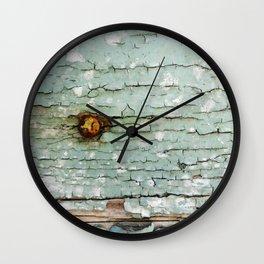 Crackle Wall Clock