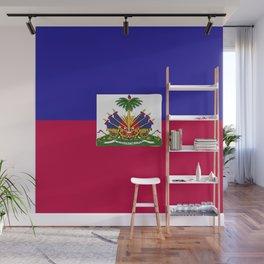 Haiti flag emblem Wall Mural