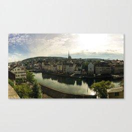 Zurich, Switzerland Canvas Print