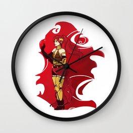 RWBY Pyrrha Wall Clock