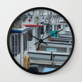 Waiting to go Fishing Wall Clock