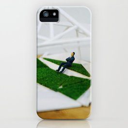 Nature and the human environment iPhone Case