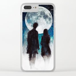 Show Me The Stars Clear iPhone Case