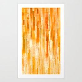 JPG lines Art Print