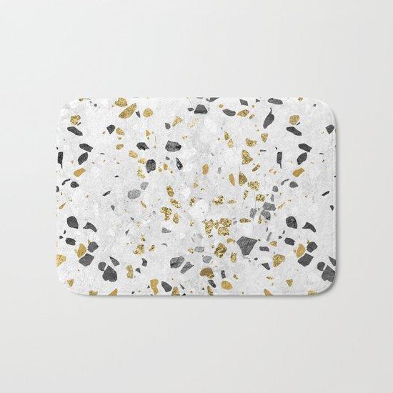 Glitter and Grit Bath Mat