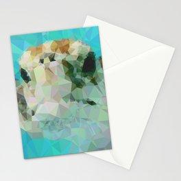 Geometric Sea Turtle Stationery Cards