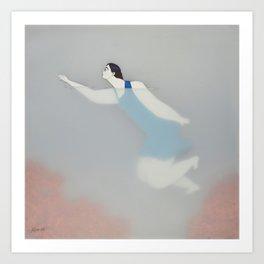 Dona d'aigua VIII Art Print