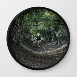 Into the woods. Wall Clock