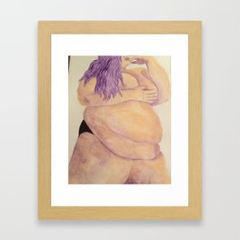Rubenesque Beauty Framed Art Print