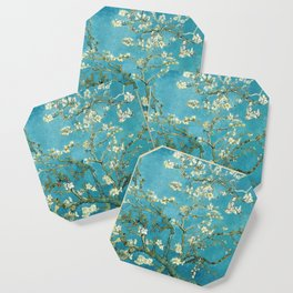 Almond Blossoms by Vincent van Gogh Coaster