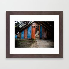 Attic Framed Art Print