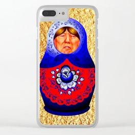Trampbushka | Funny | Comedy Clear iPhone Case