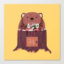 Phil? I thought that was you! Canvas Print