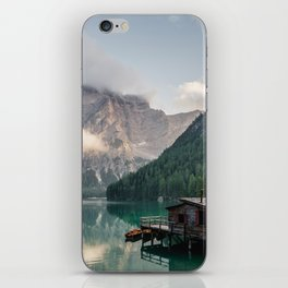 Mountain Lake Cabin Retreat iPhone Skin
