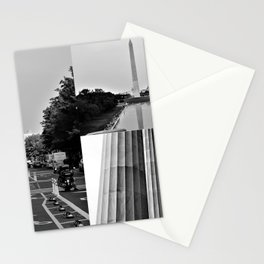 DC Collage Stationery Cards