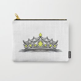 Yellow Tiara Carry-All Pouch