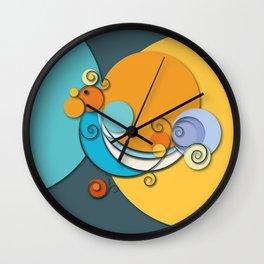 Pavoncella Sarda Wall Clock