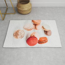 Fruit Macaron Print, Macarons Sweets On Marble, Minimal Cookie Concept Art, Printable Sweet Candies, Candy Print, French Bakery Rug