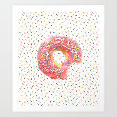 Life Needs Sprinkles Art Print