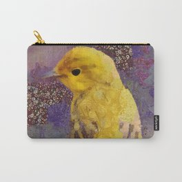 Wild Bird Abstract Colorful Painting Carry-All Pouch