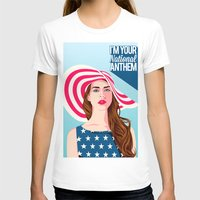 the national T-shirts featuring National Anthem by Stan Pro