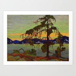Tom Thomson The Jack Pine 1916-1917 Canadian Landscape Artist Art Print