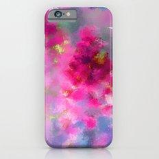 Spring floral paint 1 Slim Case iPhone 6s